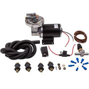 Electrical Vacuum Pump Set For Brake Booster 12v 18 To 22 Universal