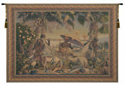 King Borne Old World Belgian Loom Tapestry Wall Art For Home Or Office