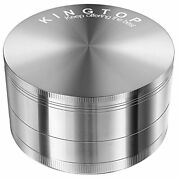 3.0 Inch Extra Large 4 Piece Tobacco Grinder Sharp Metal Spice/herb Crusher