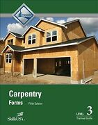 Carpentry Forms Level 3 Trainee Guide, Paperback By Nccer Cor, Brand New, F...