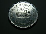 Racine Wi 1884 Mitchel And Louis The Old Reliable Wagon Medal 01351