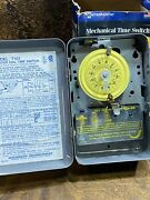 Nos Intermatic T104 Steel Enclosure 208-277v Dpst Multi Use Timer 40a  Pool