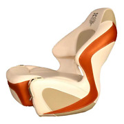 Chaparral Boat Helm Seat 31.00151   Ssx Bolster Ozone Copper