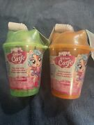 Series 4 Kitten Catfe Purrista Girls Mystery Pack W/ Color Change Boba Lot Of 2