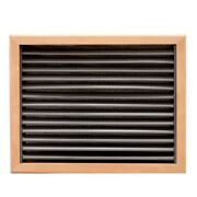 Rinker 217220223 Brown 15 X 12 Inch Wood Boat Vent Cover W/ Filter Element