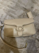 Coach Pillow Tabby 26 Brass/ivory C0772 Shoulder Bag. In Hand And Ready To Ship.