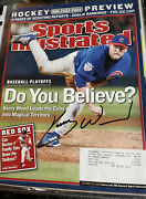 October 13 2003 Kerry Wood Chicago Cubs Baseball Sports Illustrated Signed