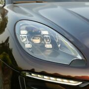Led Headlights 2014-2017 Year For Porsche Macan Led Front Lamps Black Housing Db
