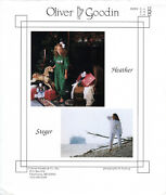 Heather And Steger Andcopy1988 Oliver Goodin Sewing And Smocking Pattern Choose Size
