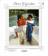 Sayler Andcopy1988 Oliver Goodin Sewing And Smocking Pattern Choose Size 3-4/5-6/7-8