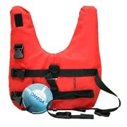 Omega 40902-s Small 8-15 Lbs Red Boat Pet / Dog Watercraft Float / Life Vest