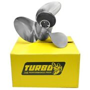 Precision Propeller Tosii160017l Turbo Osii Yamaha 16 In X 17 P Boat Propeller