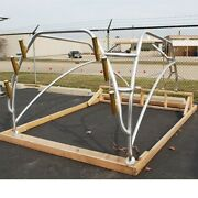 Mako Boat Hard Top Frame With Gold Rod Holders 1979