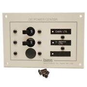 Powerquest 25065 Bass Products 96-1075w 12 Dcv Boat Power Center Breaker Panel