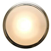 Marine Town Boat Cabin Light   12v Halogen 5 Inch Frosted Glass