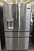 Ge Pvd28bynfs 36 Stainless French Door Refrigerator Nob 113950