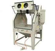 Bm Brand Industrial Sand Blast Cabinet 2 Man Sbc 1200 With Dual Work Position