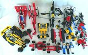 Large Lot Of 1990and039s Lego Technic Sets Vehicles With 3 Figures