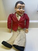 Jerry Mahoney Ventriloquist Dummy Puppet Figure Doll From Paul Winchell 1960s