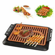 Household Electric Grill Outdoor Bbq Skewers Barbecue Machine Grill Pan