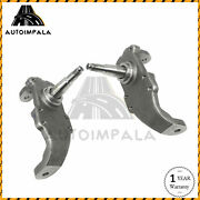 2 Drop Spindles Disc Brakes For 55-57 Chevy Bel Air Two Ten One Fifty Series