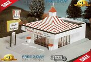 Life-like Trains Ho Scale Building Kits Kentucky Fried Chicken Drive-in