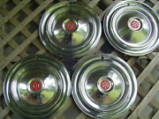 1955 1956 1957 Packard Chipper 15 In. Hubcaps Wheel Covers Center Caps Vintage
