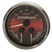 Beede Boat Multi Function Gauge 7e551r   Stratos 4 1/4 Inch