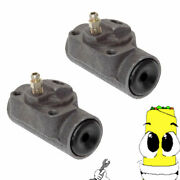 Premium Rear Left And Right Wheel Cylinders For 67-1969 77-1981 Pontiac Catalina