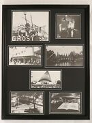 Kennywood Park Pittsburgh Amusement 1960s Framed 18x24 Photo Collage Display