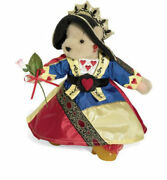 Muffy Vanderbear Limited Edition Queen Of Hearts Plush Teddy Bear Nabco 8