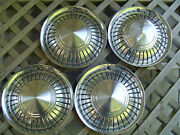 4 Vintage Ih International Pickup Truck Scout Hubcaps Center Caps Wheel Covers