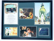 Charles Durning Signed Framed 18x24 Muppet Movie Photo Display