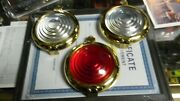 Model T Ford Brass Side And Tail Lamp Doors With Lens 1 Time Only Sale