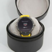 Tag Heuer Menand039s Sar8a80.ft6060 Smartwatch Android And Ios Yellow Rubber Watch