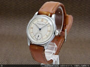 Schaffhausen Hand Winding Mens Watch Used Old Inter Cal.83 1940s Vintage F/s