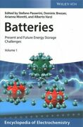 Batteries Present And Future Energy Storage Challenges, Hardcover By Passer...