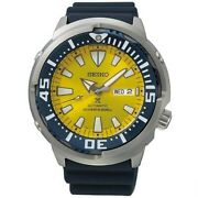 Seiko Prospex Srpd15k1 Baby Tuna Yellow Butterfly Fish Limited 2200 Blue Watch