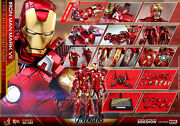 Hot Toys Iron Man Mark Vii Mms500-d2 The Avengers 1/6 New And Sealed In Shipper