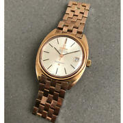 Omega Constellation Chronometer Mens Antique Automatic Watch F/s