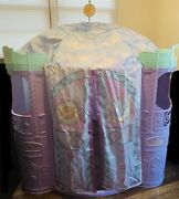 Barbie Magic Of Pegasus My Size Castle Play House Tent Purple Large Doll House