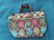 Thirty One Insulated Tote / Lunch Bag. Monogramed C