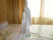 Lladro Old Folks 1033 Age Man With Top Hat And Woman  Matt Finish