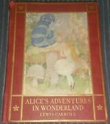 Rare 1923 Alice's In Wonderland Lewis Carroll 1st Ed Gertrude Kay 8 Color Plates