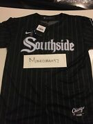 Youth Nike Chicago White Sox City Connect Yoan Moncada Andldquosouthsideandrdquo 2021 Jersey L