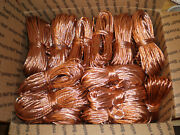 30 Lbs Scrap Clean Shiny Bare Bright Copper Wire 1 Metal Craft Melt Material