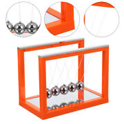 Newtons Cradle Balance Balls Ornament Physical Stress Relief Toy For Home Office