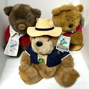 Lands' End Authentic Rugby Bears By Gund Big Daddy Kid Kodiak Grizzly Grabinsky