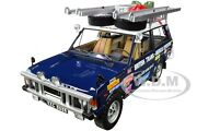 Land/range Rover Blue British Trans-americas Expedition 1/18 Almost Real 810108