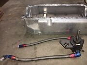 Moroso Oil Pan Wet Sump With Single Stage External Oil Pump Bbc Mark Iv Used